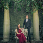 Pure Elegance With a Hint of Edge // Brian + Olga