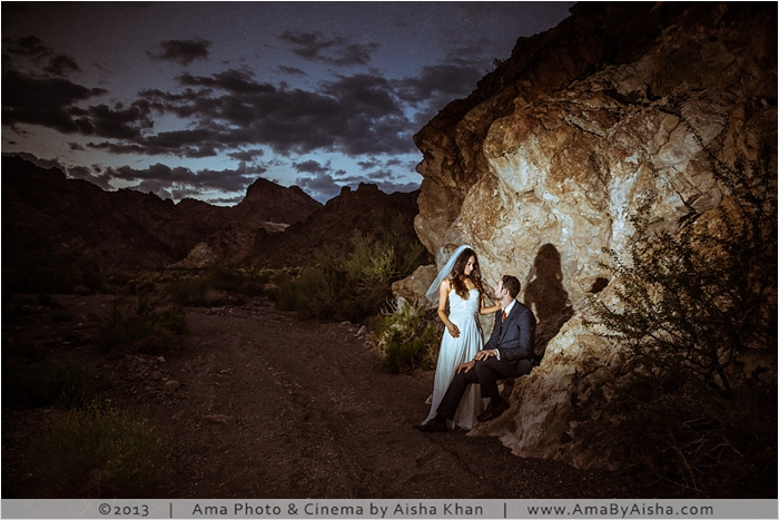 © 2013 | www.AmaByAisha.com | Vegas Wedding by Houston Photographer