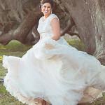Mossy Trees Bridal Session // Iris