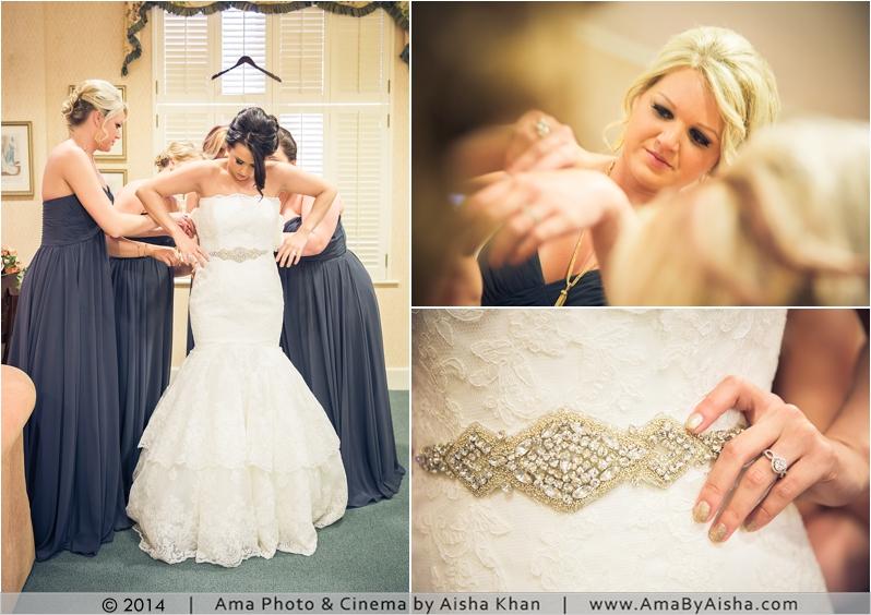 ©2014 | www.AmaByAisha.com | Downtown Houston Wedding Photography