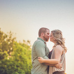 Sunset Engagement Session in Kingwood