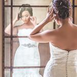 Crystal Ballroom Bridal Portraits // Lenee