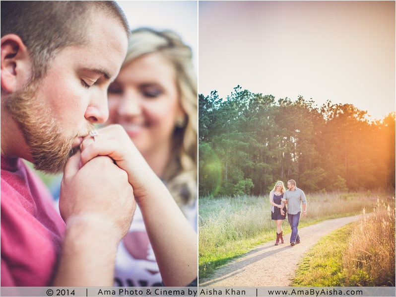 ©2014 | www.AmaByAisha.com | Sunset Engagement Session