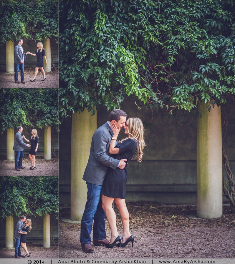 Hermann Park Engagement Session