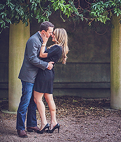 Engagement Session at Hermann Park