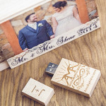Keepsake Wooden USB