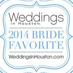 Weddings in Houston 2014 Brides Favorite