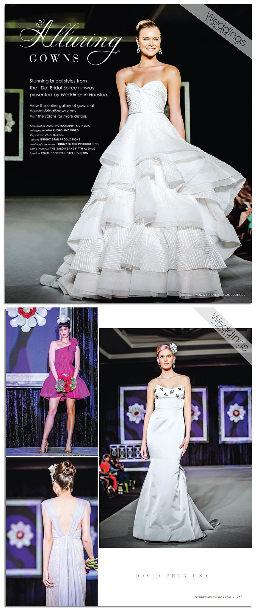 Weddings in Houston Magazine