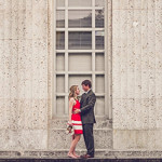 Cute Chic Houston Engagement Session