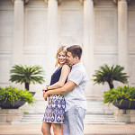 Texas Elegance Engagement Session // Julia + Maximilian