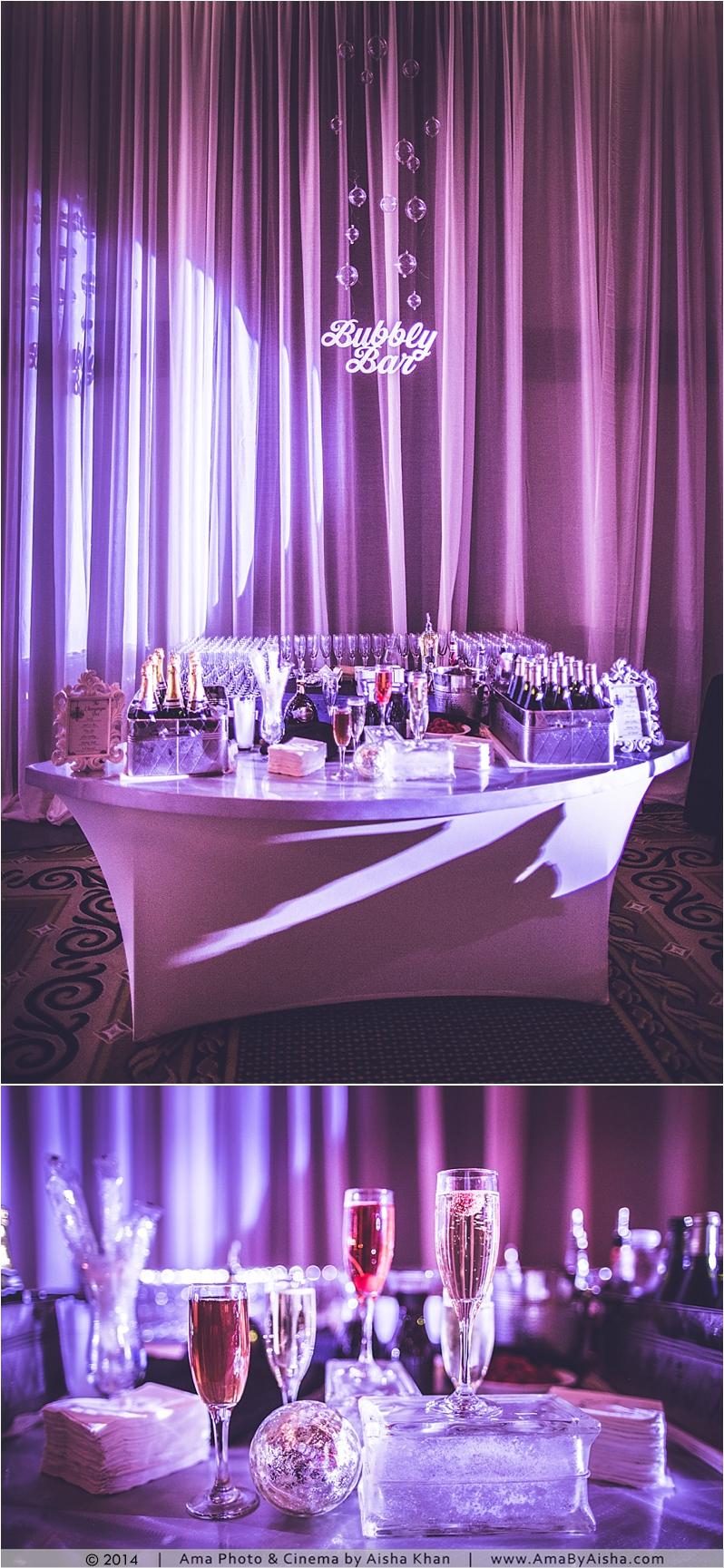 ©2014 | www.AmaByAisha.com | Texas wedding photographer | Bubbly Bar!