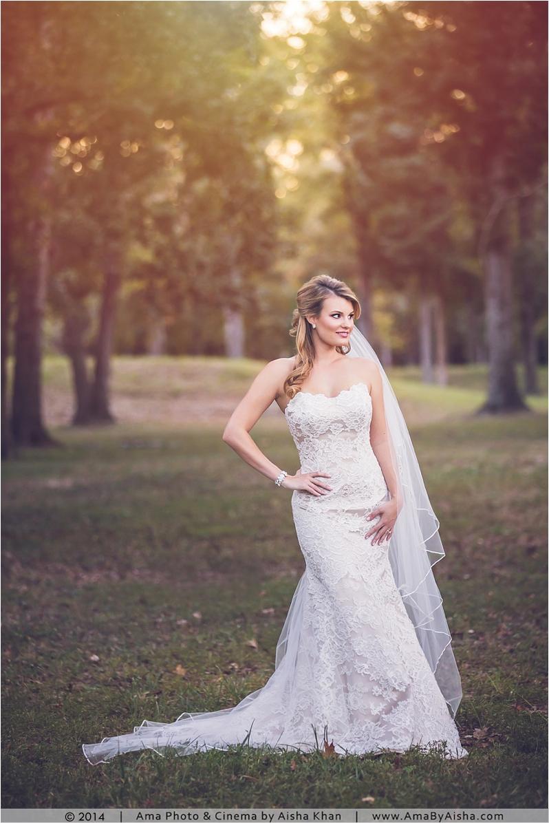 ©2014 | www.AmaByAisha.com | Texas Bridal Portrait Photography