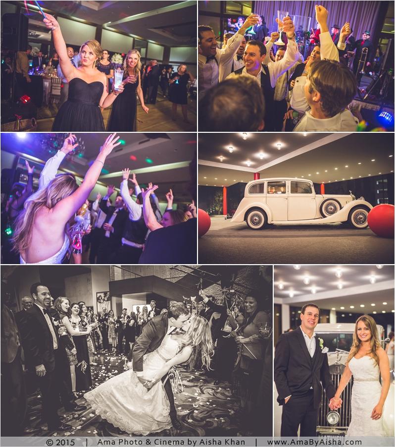 ©2015 | www.AmaByAisha.com | Wedding grand exit