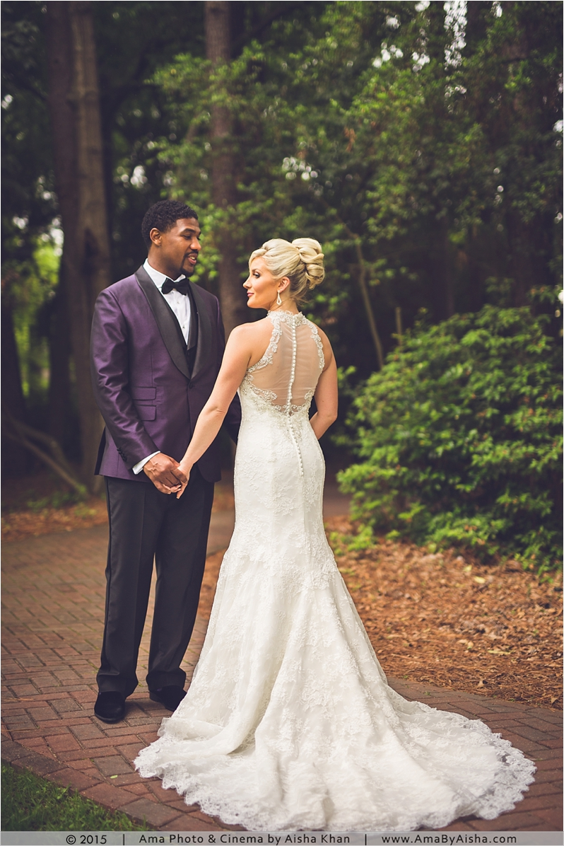 ©2015   www.AmaByAisha.com   Wedding couple portrait