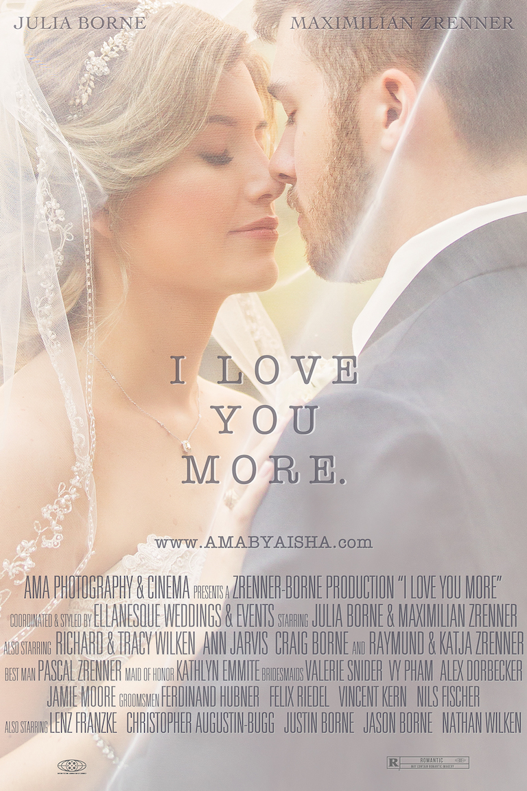 Wedding film poster