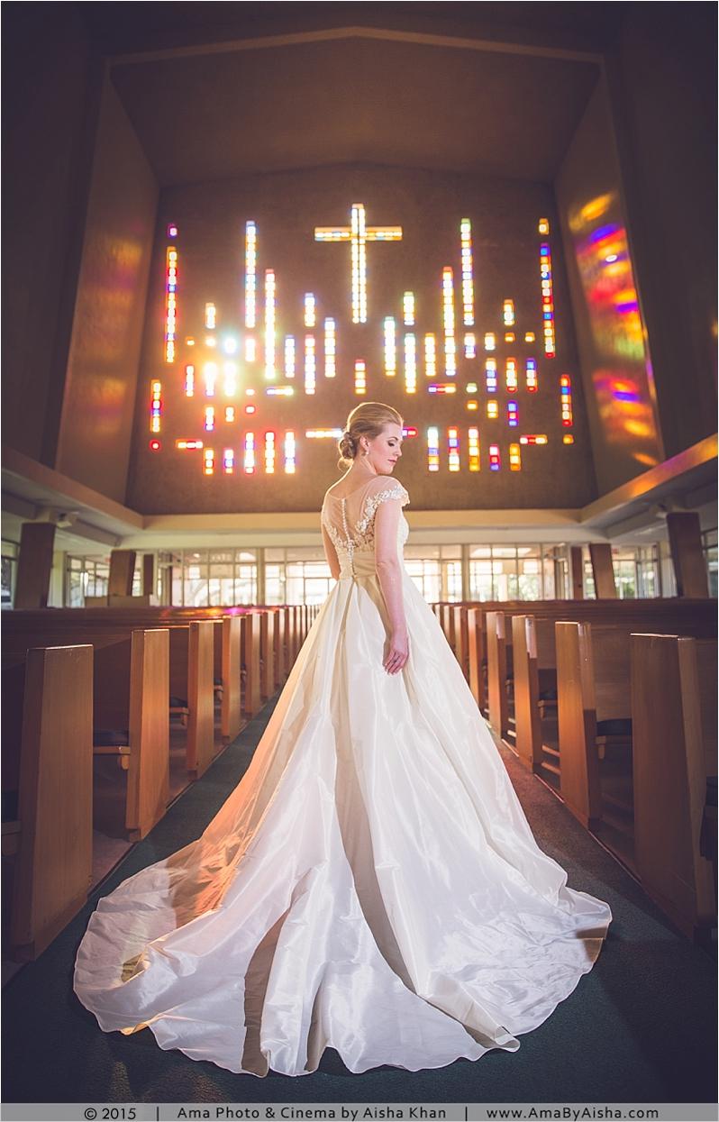 ©2015 Bridal portraits by Aisha Khan at Rice University area in Houston, TX