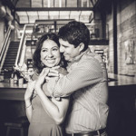 Engagement Session in Downtown Houston // Erika + Richard