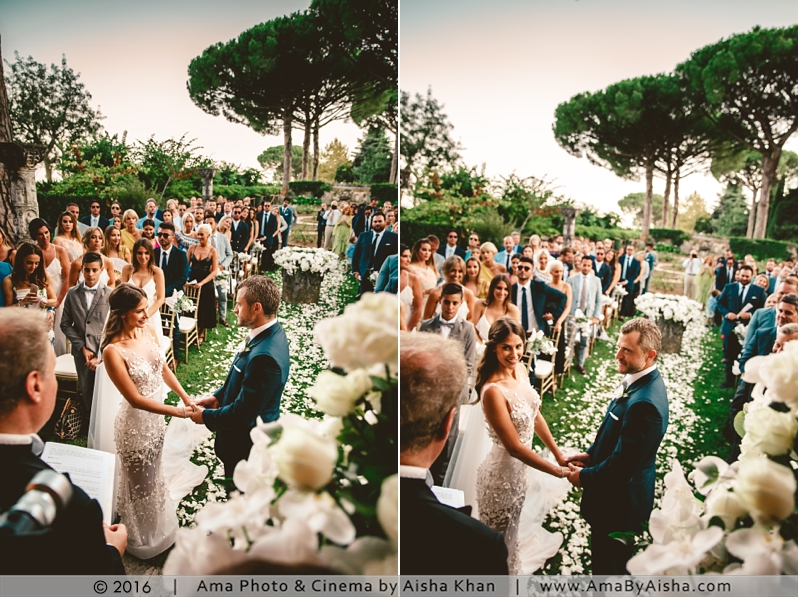 ©2016 | www.AmaByAisha.com | South Italy destination wedding