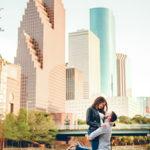 Downtown Houston Engagement Shoot // Sarah  + Chris