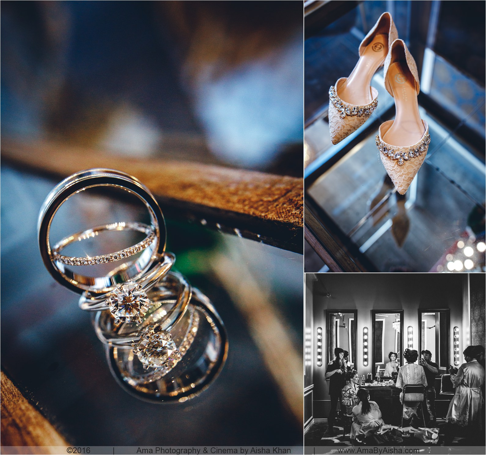Wedding bands photography
