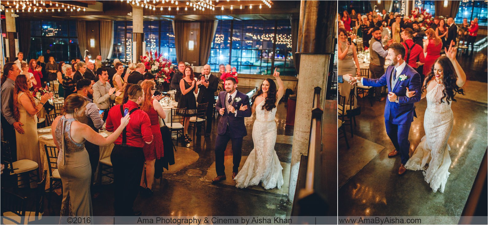The Astorian wedding of Sarah & Chris