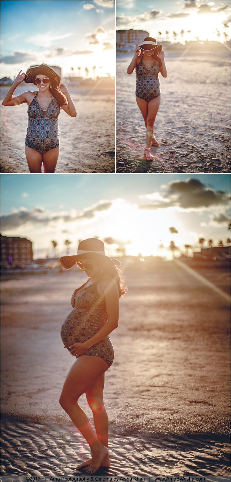 beach maternity pictures