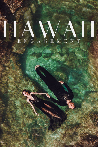 Hawaii engagement shoot