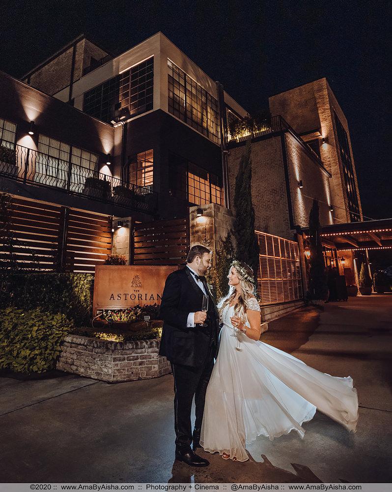 wedding at the astorian